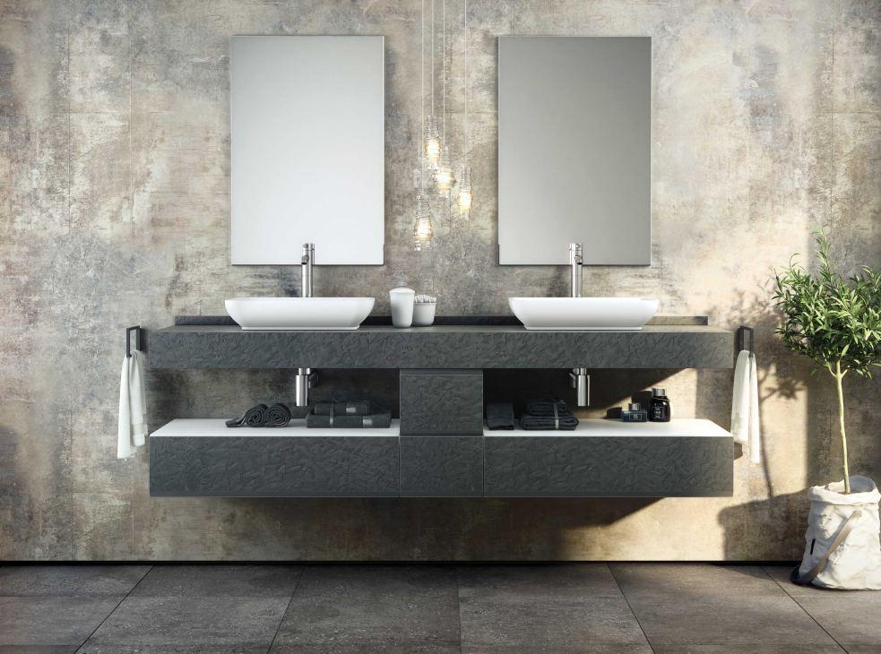 Modulární koupelnový nábytek