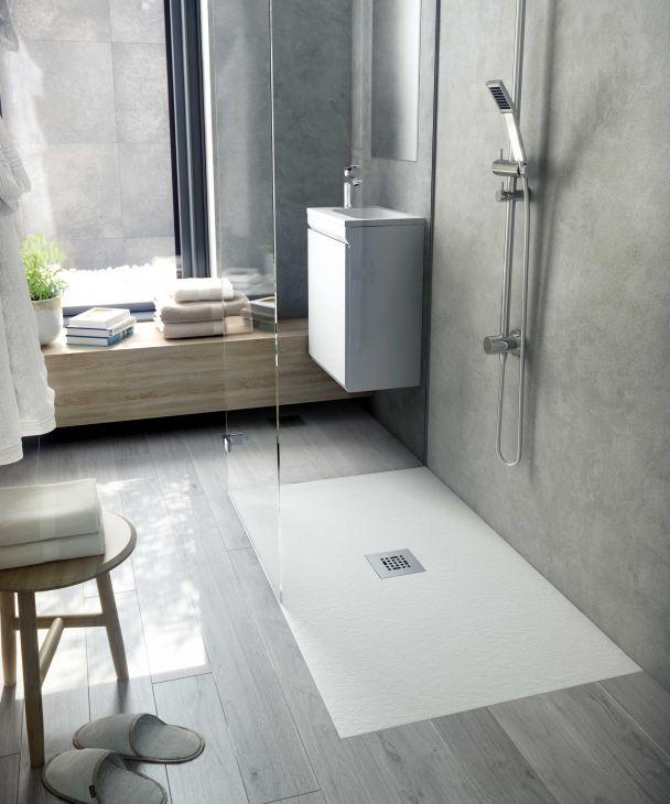 Bílá sprchová vanička